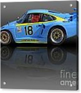 Porsche 935 K3 Slant-nose Acrylic Print