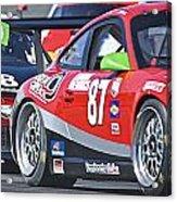 Porsche Gt In Traffic Acrylic Print