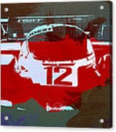 Porsche Le Mans Acrylic Print by Naxart Studio