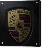 Porsche Logo Acrylic Print