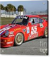 Porsche Rsr Race Car At Sebring Acrylic Print