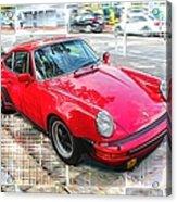 Porsche Series 02 Acrylic Print