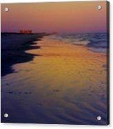 Port Aransas Sunset Acrylic Print