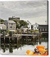 Port Clyde On The Coast Of Maine Acrylic Print