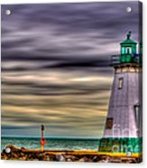 Port Dalhousie Lighthouse Acrylic Print by Jerry Fornarotto