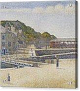 Port En Bessin Acrylic Print