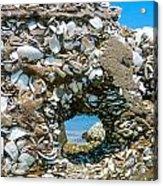 Port Hole Window Acrylic Print