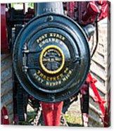 Port Huron Tractor Acrylic Print