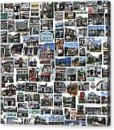 Port Jefferson Photo Collage Acrylic Print