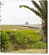 Port Lavaca Migratory Bird Stopover Acrylic Print