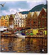 Port Life Acrylic Print