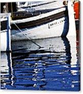 Port Of Cannes Acrylic Print