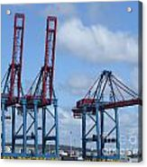 port of Gothenburg Acrylic Print