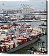 Port Of Long Beach Acrylic Print