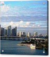 Port Of Miami 3 Acrylic Print