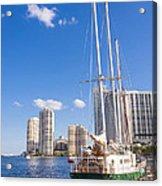 Port Of Miami Acrylic Print