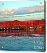 Port Of Naples Acrylic Print