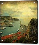 Port Of Nice Acrylic Print