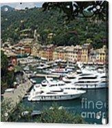 Port Of Portofino Acrylic Print