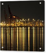 Port Of Vancouver Bc Canada Acrylic Print
