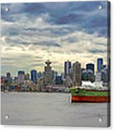 Port Of Vancouver Bc Panorama Acrylic Print