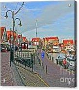 Port Of Volendam Acrylic Print