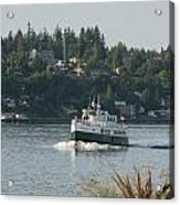 Port Orchard Foot Ferry Acrylic Print