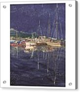 Stary  Port Orchard Night Acrylic Print