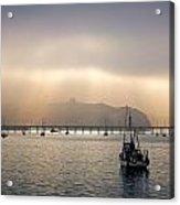 Port San Luis At Dawn 009 Acrylic Print