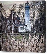 Port Sanilac Light Acrylic Print