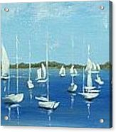 Port Townsend wooden boats festival Acrylic Print