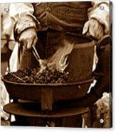 Portable Forge Circa 1800s Acrylic Print