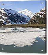 Portage Lake Panorama Acrylic Print by Tim Grams
