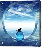 Portal To Peace Acrylic Print