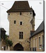Porte Du Croux - Nevers Acrylic Print