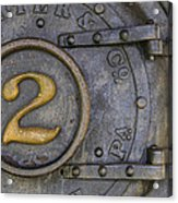 Porter And Company Steam Boiler Acrylic Print