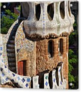 Porter's Lodge Pavilion In Park Guell Acrylic Print