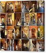 Porticos Of Padua Combined Acrylic Print