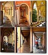 Porticos Of Padua No 4 Acrylic Print