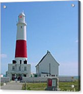 Portland Bill Lighthouse Acrylic Print