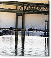 Portland Bridges Acrylic Print