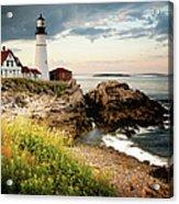 Portland Head Light - Cape Elizabeth Acrylic Print