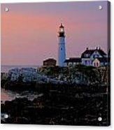 Portland Head Lighthouse At Daybreak Acrylic Print