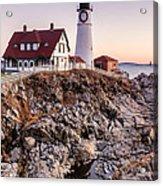 Portland Head Lighthouse Cape Elizabeth Maine Acrylic Print