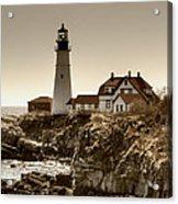 Portland Head Lighthouse Acrylic Print by Joann Vitali