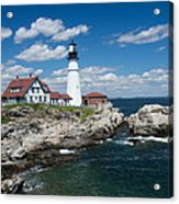 Portland Headlight 0219 Acrylic Print