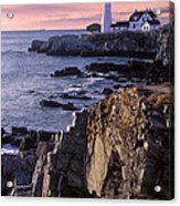 Portland Headlight Maine Acrylic Print