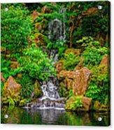 Portland Japanese Garden Acrylic Print