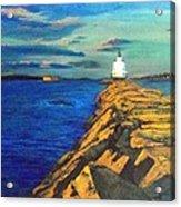 Portland Maine Harbor Acrylic Print