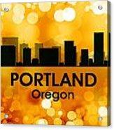 Portland Or 3 Acrylic Print
